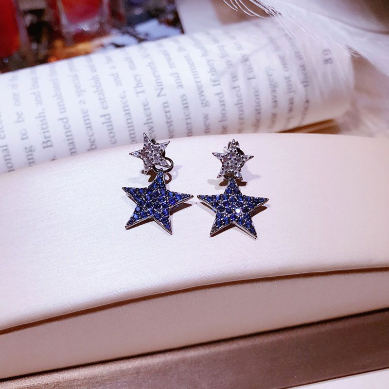 Jeulia Star Earrings Drops