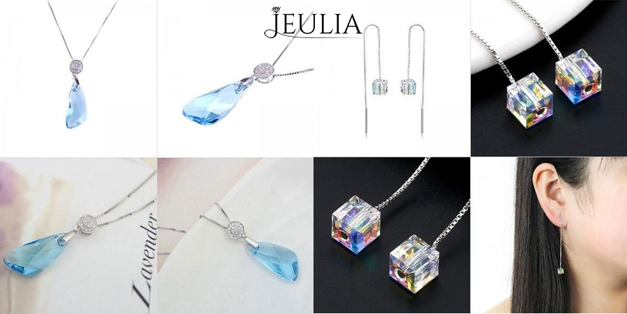 Jeulia Sterling Silver Jewelry