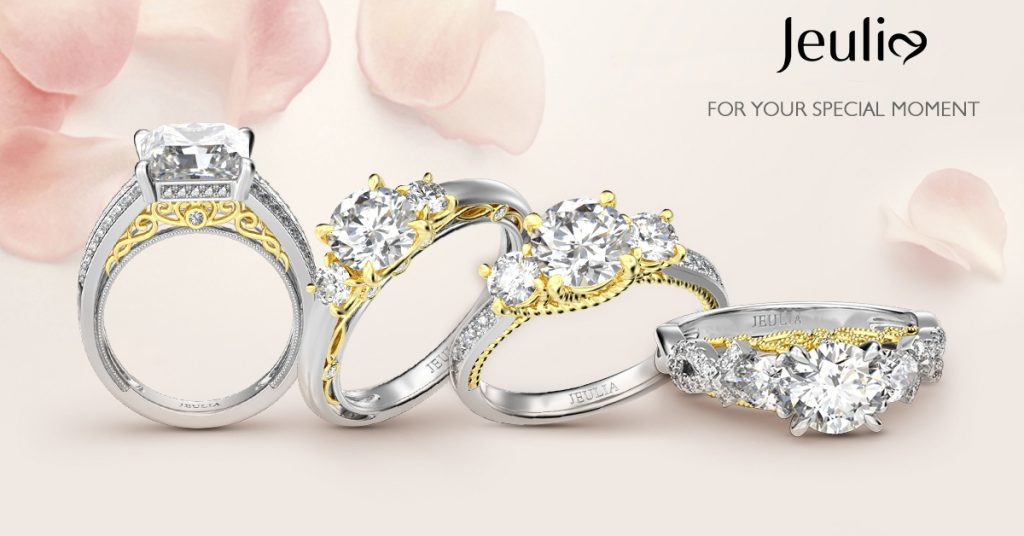 Jeulia Engagement Rings