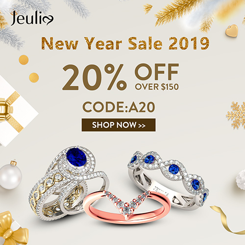 Jeulia New Year Sale