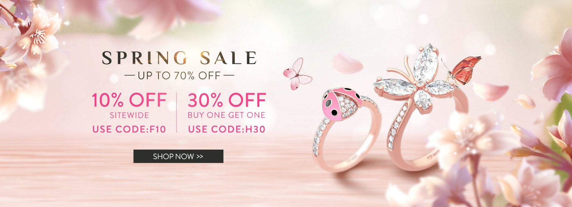 Jeulia Spring Jewelry Sale 2020