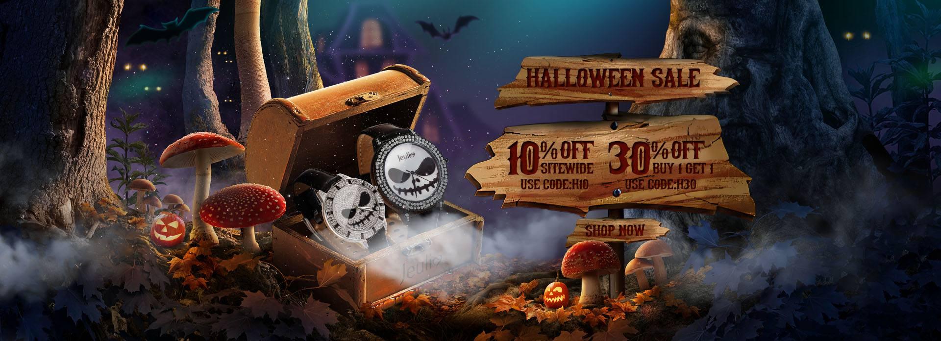 Jeulia Halloween Sale