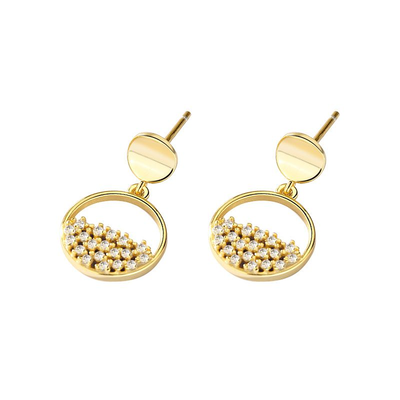 round-cut-sterling-silver-earrings