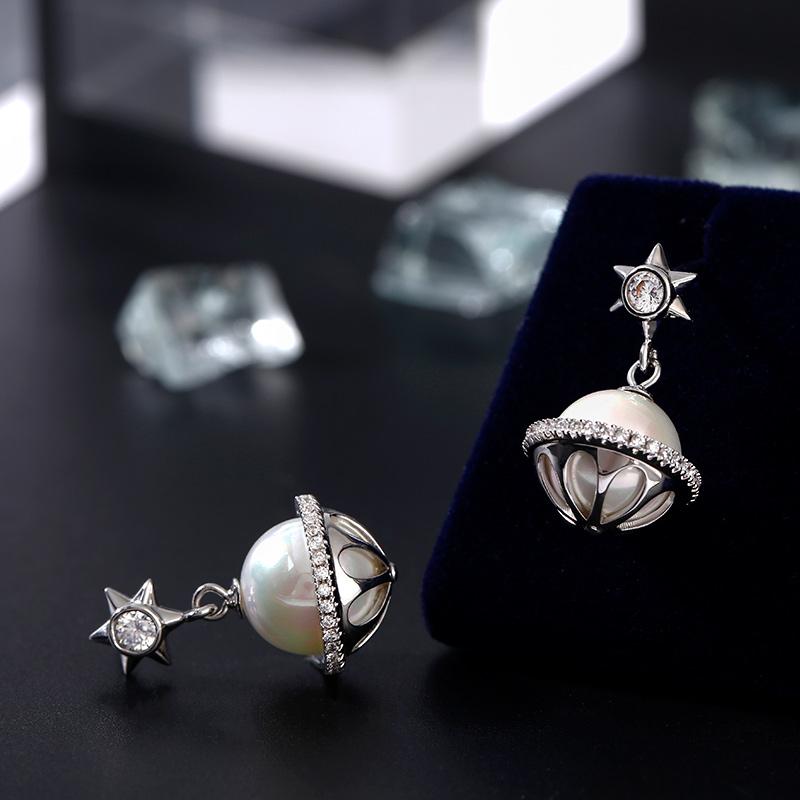hexagram-cultured-pearl-sterling-silver-earrings