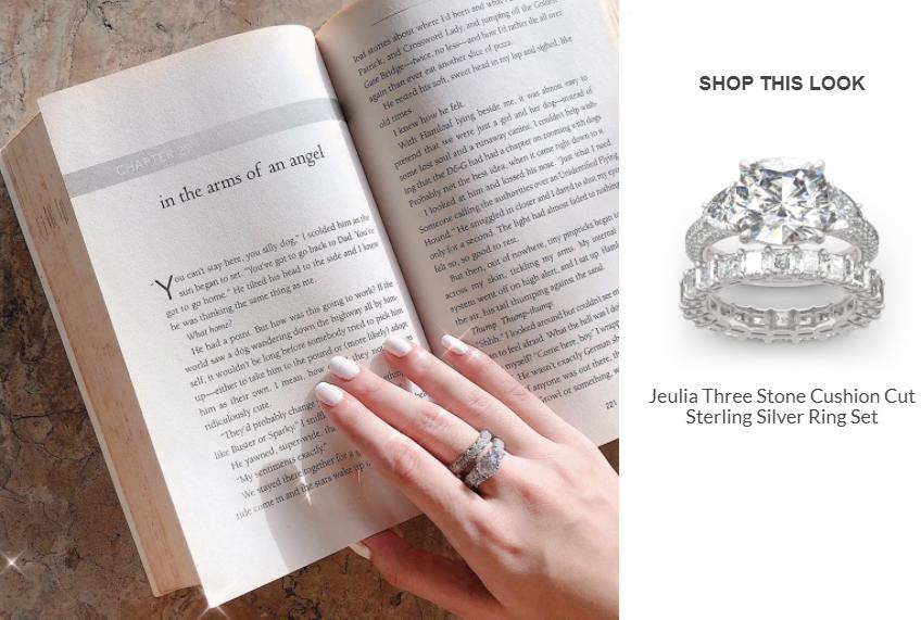 three-stone-cushion-cut-sterling-silver-ring-set
